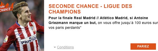 Seconde chance avec PMU sur Real/Atletico