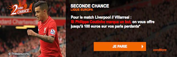 Liverpool - Villarreal sur PMU.fr