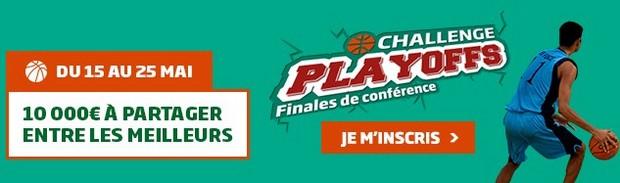 Les finales de conférence des Playoffs NBA sur PMU