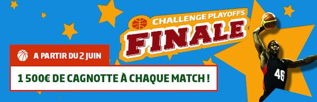 PMU met en jeu 1.500 euros de paris gratuits par match lors de la finale des playoffs NBA