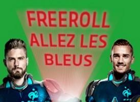 """PMU Poker vous propose les freerolls """"Allez les Bleus"""""""