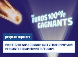 Les Euros 100% Gagnants sur PMU.fr
