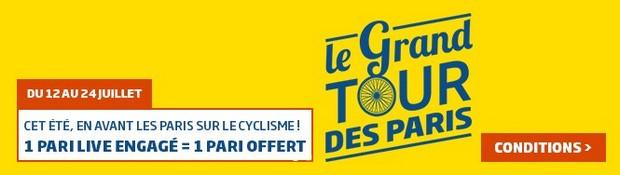 Pariez en Live sur le tour de France avec PMU