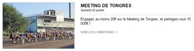 Meeting de Tongres avec PMU turf