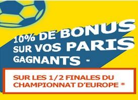 Pariez sur PMU.fr pour les 1/2 finales de l'Euro 2016