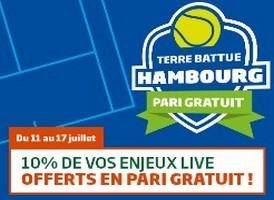 Pariez sur le tournoi d'Hambourg avec PMU