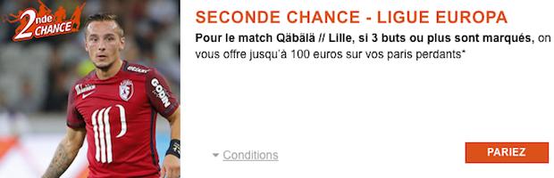Seconde Chance avec PMU sur Lille/Qabala