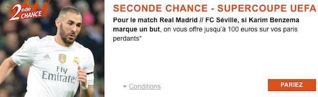 Misez sur Real Madrid/Séville avec PMU.fr