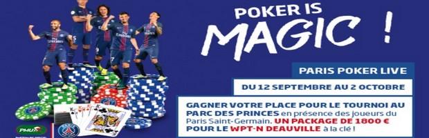 Le Paris Poker Live du 12 septembre au 2 octobre sur PMU.fr