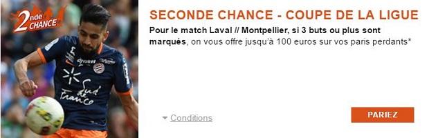 Offre Seconde Chance PMU Laval/Montpellier