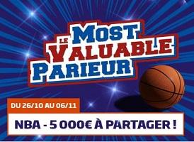 Devenez le MVP avec PMU pour la reprise de la NBA