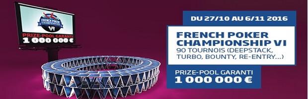 Le French Poker Championship VI de PMU.fr