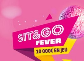 Sit and Go Fever 2016 sur PMU du 17 au 30 octobre