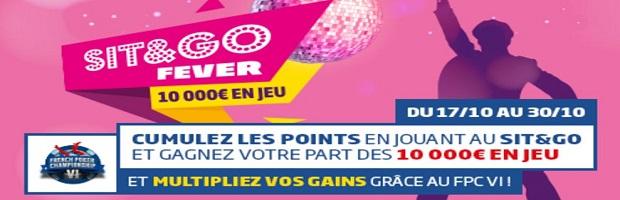 Participez aux SNG Fever sur PMU et empochez votre part des 10.000 euros