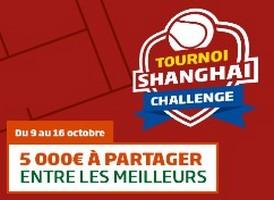 Le Challenge Tournoi de Shanghai avec PMU