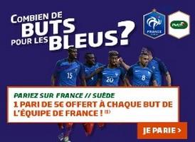PMU vous propose de parier sur France-Suède