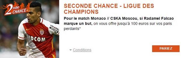 PMU vous propose une Seconde Chance sur Monaco-Moscou