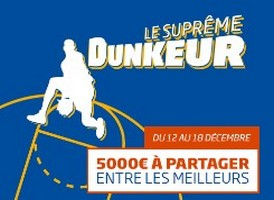 Pariez du 12 au 18 décembre sur les rencontres de NBA avec PMU.fr