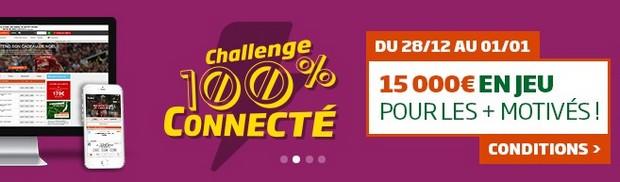 15.000€ à partager avec le Challenge 100% Connecté de PMU
