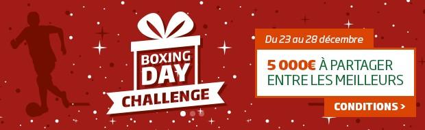 Le Challenge Boxing Day 2016 sur PMU.fr