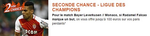 Pariez sur Bayer LeverKusen/ Monaco en seconde chance PMU
