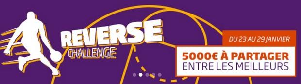 Participez au NBA reverse challenge sur PMU