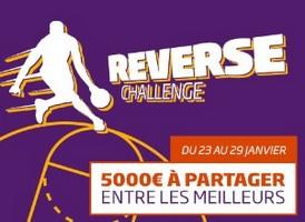 5.000€ avec le reverse challenge NBA de PMU.fr