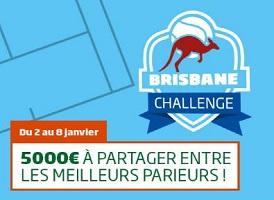 Empochez de 50 à 500 € en misant sur les tournois ATP du 2 au 8/01