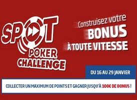 PMU Poker vous propose son Challenge Spot Poker