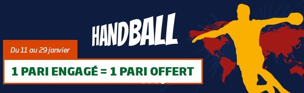 Pariez sur le Championnat du monde de handball avec PMU
