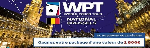 Qualifiez vous pour le WPT de Bruxelles avec PMU Poker