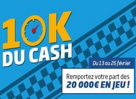 Jouez au poker en cash game en février avec PMU