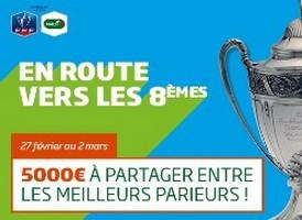 PMU vous propose de miser sur les 8èmes de la Coupe de France