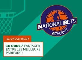 Jackpot NBA de 10.000 € à partager du 27 février au 5 mars sur PMU