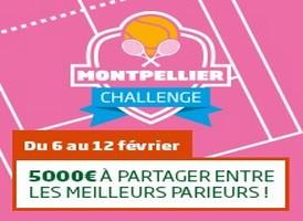 PMU tennis : le Challenge tournoi de Montpellier 2017