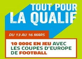 Pariez sur les matchs de coupes d'europe avec PMU du 13 au 16 mars