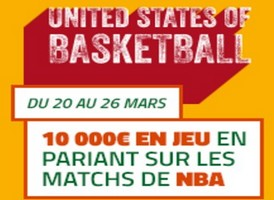 United States of Basket Ball sur PMU.fr