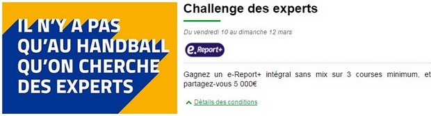 Challenge des experts PMU