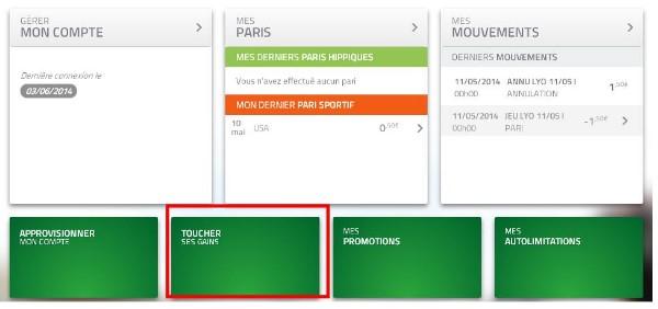 Comment effectuer un retrait d'argent sur PMU.fr