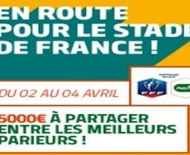 Pariez en combiné avec PMU.fr sur les 1/4 de CDF