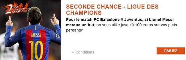 Pariez sur Barcelone-Juventus avec PMU en 1/4 de finale de la Ligue des Champions