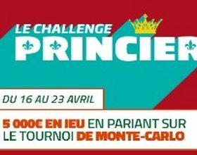 PMU vous propose un Challenge tennis sur le tournoi de Monte-Carlo