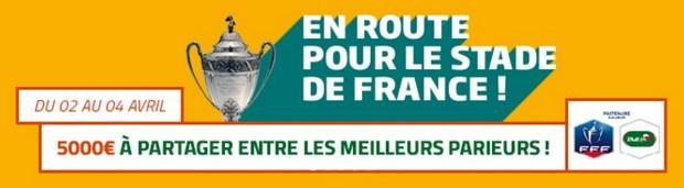 Pariez avec PMU sur les 1/4 de finale de Coupe de France