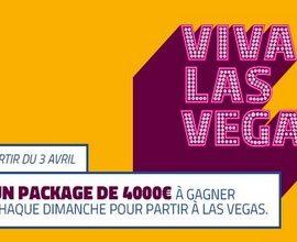 PMU Poker met en jeu 10 packages de 4.000€ pour Las Vegas