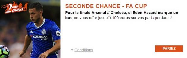 Seconde chance PMUJ sur la finale de la Cup Arsenal/Chelsea