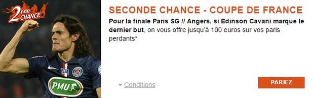 Seconde Chance PMU PSG-Angers
