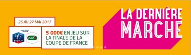 Finale de la CdF Angers/Paris sur PMU