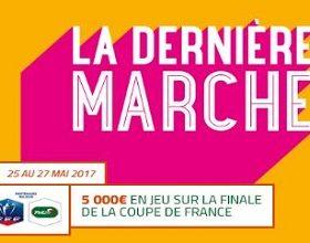 """Promo """"Dernière Marche"""" sur PMU pour la finale de la coupe de France"""