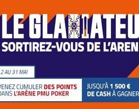 """PMU Poker vous propose de devenir """"Le Gladiateur"""" en mai 2017"""
