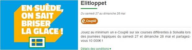 10.000€ mis en jeu sur l'Elitloppet les 27 at 28 mai par PMU Turf